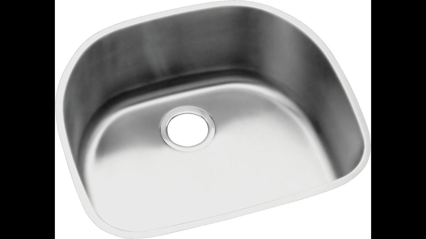 Elkay Harmony Stainless Steel 23-5/8″ x 21-1/4″ x 10″, Single Bowl ...